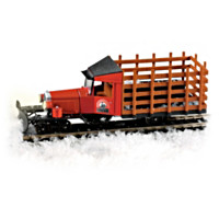 Masterpiece Railways Snow Plow Vehicle Train Accessory