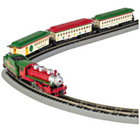 The Spirit Of Christmas Train Set