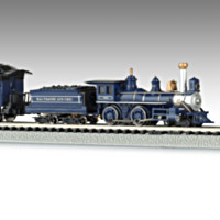 The Royal Blue Train Set
