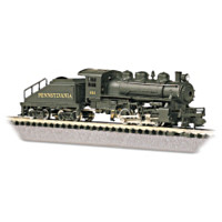 The Pennsylvania Locomotive And Tender Train Accessory