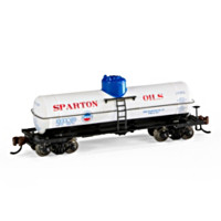 Sparton Oils Tank Car Train Accessory