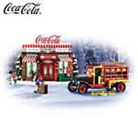 COCA-COLA Refreshing Memories Village Accessory