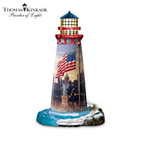 Thomas Kinkade The Light Of Freedom Sculpture