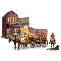 The Legend Of John Wayne Sculpture Set