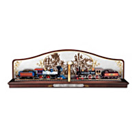 The Golden Spike Commemorative Display Train Accessory