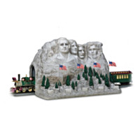 The Mount Rushmore Tunnel Masterpiece Train Accessory