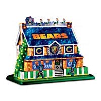 Chicago Bears Lighted House Collection