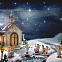 M.I. Hummel Heavenly Music Nativity Set