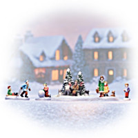 Snow Much Fun 5 Piece Figurine Set