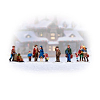 Whistlestop Junction Christmas Village Accessory Set