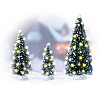 Holiday Sparkle Accessory Figurine Set