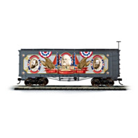 Civil War 150th Anniversary Boxcar Train Car