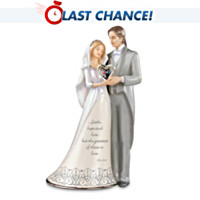 I Do Bride And Groom Figurine