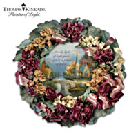 Thomas Kinkade Chapel Inspirations Wreath