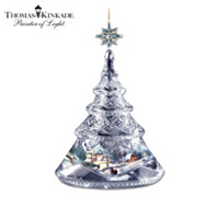 Thomas Kinkade A Christmastime Glow 2013 Ornament