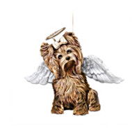 My Little Angel Yorkie Ornament