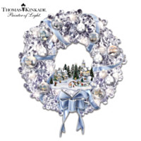 Thomas Kinkade Holiday Brilliance Wreath