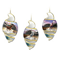 Free As The Wind Heirloom Porcelain Ornament Set: Set One