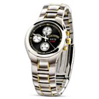 Legend 4472 Gold Edition Chronograph Men's Watch