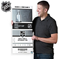2012 Kings® Stanley Cup® Mega Ticket Wall Decor