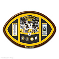 The Super Bowl XLV Champions Official Coin Set