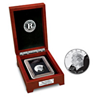 The Last Proof U.S. Silver Dollar Coin