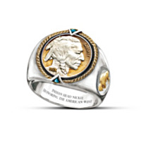 The 1938 Indian Head Nickel Men's Ring