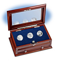 Three Centuries Of U.S. Silver Half Dollars Coin Set