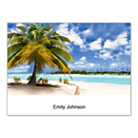 Tropical Paradise Folded Note Cards
