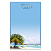 Tropical Paradise Large Note Pads