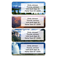 America's National Parks Address Labels