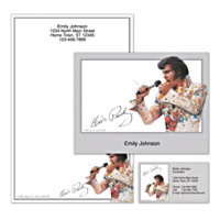 Remembering Elvis Personalized Stationery