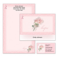 Hope Springs Eternal Personalized Stationery
