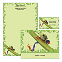 Froggy Fun Personalized Stationery
