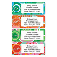 Kaleidoscope Address Labels