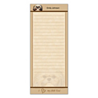 Faithful Friends - Shih Tzu List Note Pads
