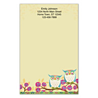 Challis & Roos Awesome Owls Large Note Pads