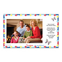Autism: Imagine Photo Insert Cards