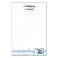 Rescued Is My Breed Of Choice Large Note Pads