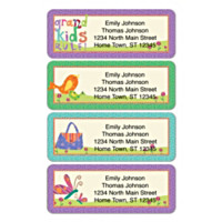 Grandkids Rule! Address Labels