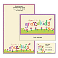 Grandkids Rule! Personalized Stationery