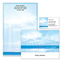 New Day Personalized Stationery