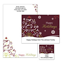 Holiday Celebrations Personalized Stationery
