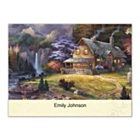 Cabin Escape Folded Note Cards