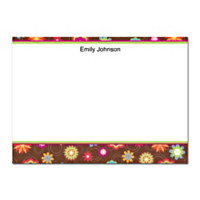 Floral Fun Flat Note Cards