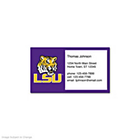 Louisiana State University Social Calling Cards