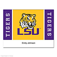 Louisiana State University Folded Note Cards