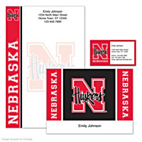 University of Nebraska Personalized Stationery