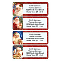 Santa Claus Holiday Address Labels
