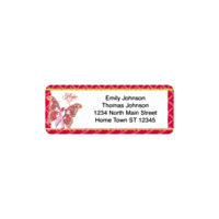 On The Wings Of Hope Holiday Address Labels
